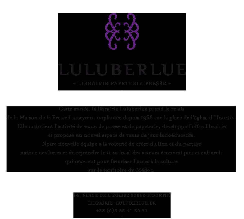 Luluberlue | Librairie - Papeterie - Presse